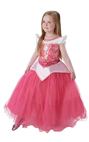 Rubie's IT620481-S -Costume per Bambini Sleeping Beauty Premium, S