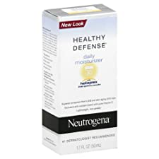 Neutrogena Healthy Defense Moisturizer, Daily, 1.7 oz.