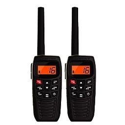 Uniden Atlantis 270 Waterproof VHF Marine Two-Way VHF Marine Radio ( 2 Pack )