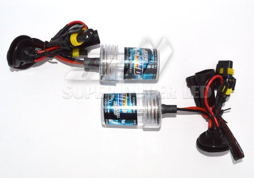 Pair Xenon Hid Replacement Light Bulbs H9 6000K