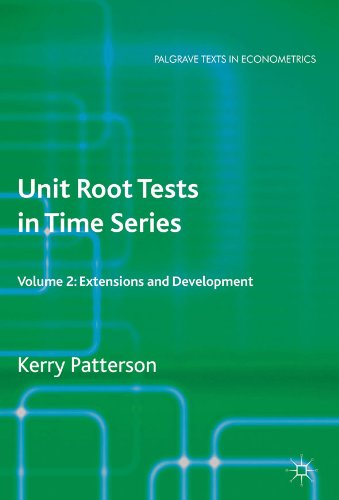 Professor Kerry Patterson - Unit Root Tests in Time Series Volume 2