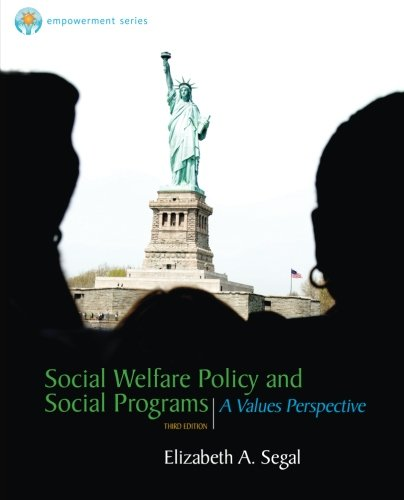 Brooks/Cole Empowerment Series: Social Welfare Policy And Social Programs (Sw 323K Social Welfare Programs, Policies, And Issues)