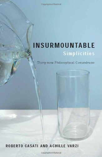 Insurmountable Simplicities: Thirty-nine Philosophical Conundrums