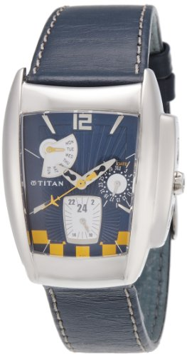 Titan Tycoon Analog Blue Dial Men's Watch - 1356SL02
