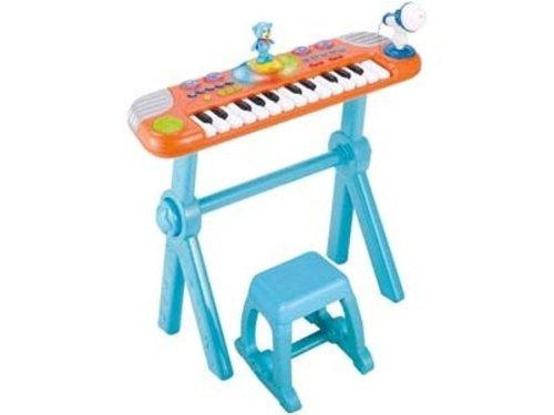 Partner Jouet - A0905603 - Instruments de Musique - Synthe et Ourson Dansant