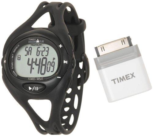 Timex Unisex Black Ironman Sleek iControl Resin Strap Watch #T5K047