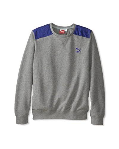 PUMA Men's Croc Skin Crew Sweatshirt