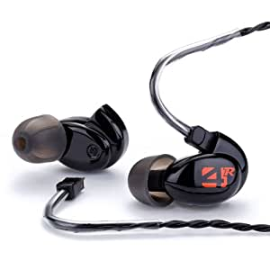 Westone 4R Series Quad-Driver Universal Fit Earphone with Removable Cable, Black (Discontinued by Manufacturer)