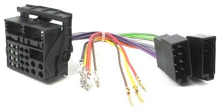 adaptershop Radio / Navi Einbau Adapter Quadlock-ISO Universal Most