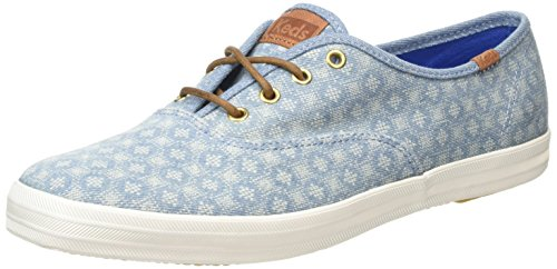 KedsCh Diamond Dot - Scarpe Basse Stringate donna , blu (Blue (Blue)), 40