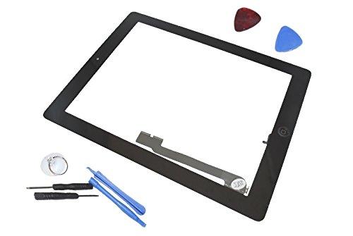Apple iPad 4 A1458 A1459 A1460 Touch Screen Display Front Glas Scheibe Original Neu schwarz black