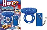 Novelties By Nasswalk Hero Remote Control C*ckring - Blue