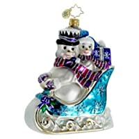 Christopher Radko Out For A Spin Ornament