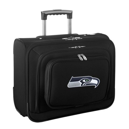 Denco Sports Luggage NFL Seattle Seahawks 14'' Laptop Overnighter (Black) at Amazon.com