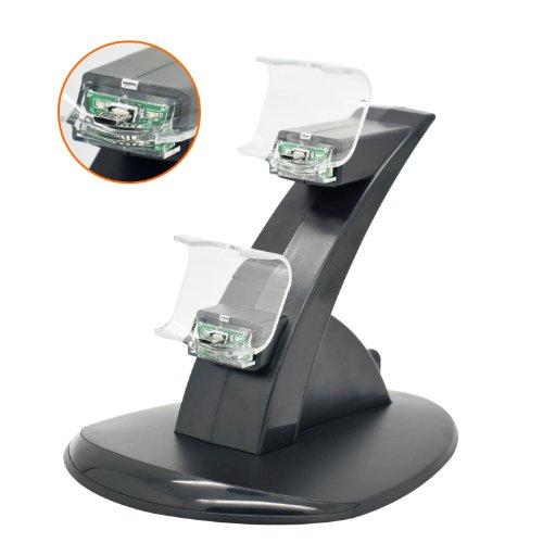 iprotect-stazione-di-ricarica-per-2-dispositivi-per-sony-playstation-4-supporto-verticale-fisso