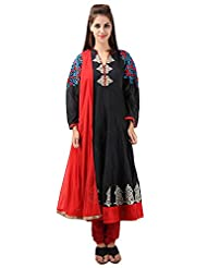 Imple Boutique Women's Kora Silk Salwar Suit Set (IBA-11)