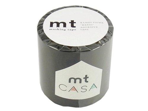 カモ井加工紙 マスキングテープ 50MM幅×10M巻 MTCA5020 マットブラック