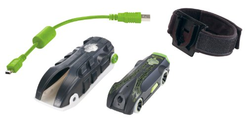 Hot Wheels Video Racer Micro Camera Car - Green (Cars Micro Racers compare prices)