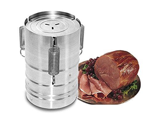 dax-hub-stainless-steel-ham-maker-ham-press-with-cooking-bags-homemade-specialties-meat-fish-poultry