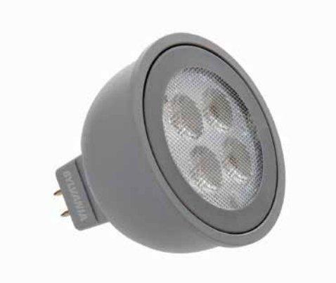 Sylvania 79091 Mr16 Led Light Bulb 2700K 25 Deg Led6Mr16/Dim/827/Nfl25/G3