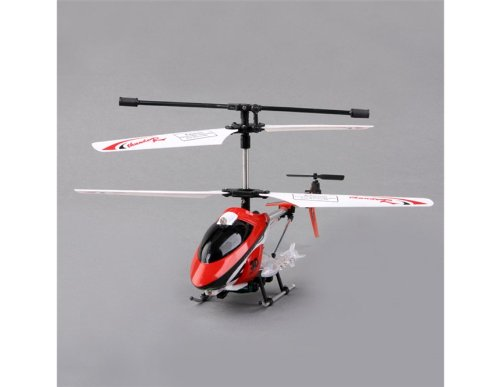 3.5-channel Transmitter R/C Helicopter with GYRO and Light (Red)