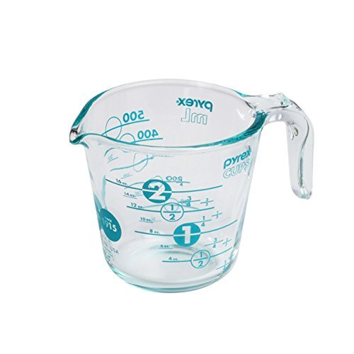 Pyrex 100 2 Cup 100th Anniversary Measuring Cup, Turquoise (2 Cup Measuring Pyrex compare prices)