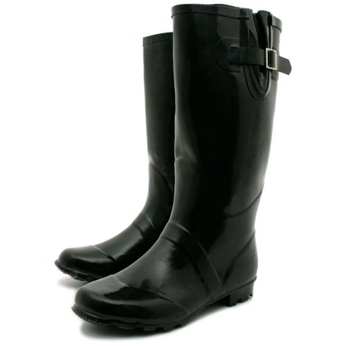 Black Womens Snow Boots Wide Calf | Planetary Skin Institute