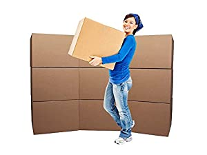 Cheap Cheap Moving Boxes Medium Moving Boxes (10-Pack) & Roll Of Tape