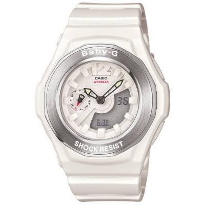 Casio BGA140-7BCR Womens Baby-G Shock Resistant Analog Digital Watch