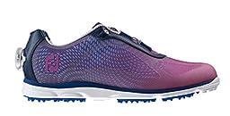 FootJoy EmPower BOA Golf Shoes 2015 Ladies Navy/Plum Medium 8