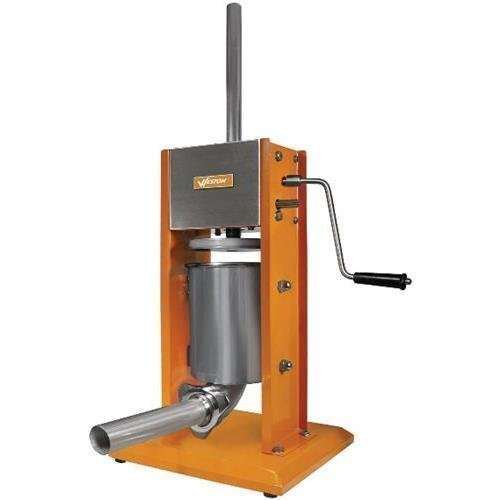 Weston 86-0701-W 7 lb Dual Speed Vertical Sausage Stuffer - Stainless Steel (Weston86-0701-W ) by Weston (Weston Vertical Sausage Stuffer compare prices)