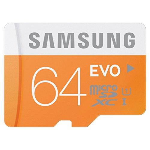 microSDカード 64GB SAMSUNG EVO Class10 UHS-I対応 (最大転送速度48MB/s) 10年保証 MB-MP64D/FFP 【日本サムスン正規品】