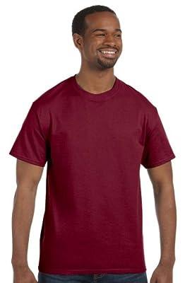 Hanes - 6 oz. Tagless T-Shirt >> 3XL,CARDINAL