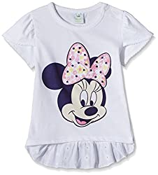 Disney Baby Girls' Blouse Shirt (TC 2452_Off-White_9-12 Months)