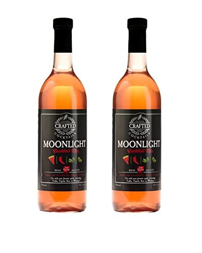 Crafted Cocktails 2-Pack Moonlight All Natural Low Calorie Cocktail Mix