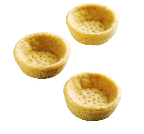 Hafner Organic Tart Shells, Round Neutral, 378-Count Box