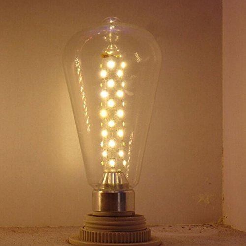 CMYK E26 Vintage Retro Dimmable 6w Edison LED Bulb, 110v, Yellow