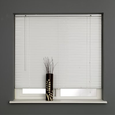 Sunlover Metal 25mm Aluminium Venetian Blinds, White, W105cm