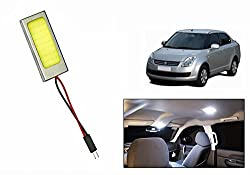 Speedwav Car Metal Border Roof LED Light Rectangle WHITE-Maruti Swift Dzire Old