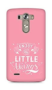 AMEZ enjoy the little things 2 Back Cover For LG G3
