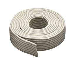 M-D Building Products 71522 Replaceable Cord Weatherstrip, 30 Feet, Gray