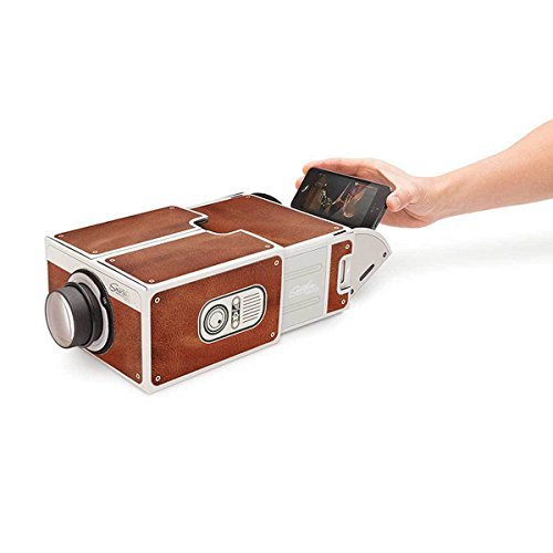 Dailyextreme Smartphone Projector 2.0 DIY Cardboard Mobile Phone Projector Portable Cinema For iPhone 5 6 6s Samsung (Mobile Projector For Samsung compare prices)