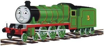 Imagen de Bachmann trenes Thomas & Friends - El motor de Henry verde con ojos móviles