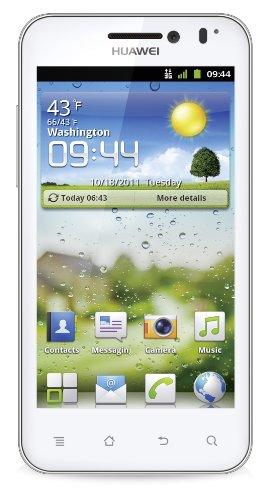 Huawei U8860 Smartphone (10,2 cm (4 Zoll) Display, 8 Megapixel Kamera, UMTS, Android 2.3) weiß