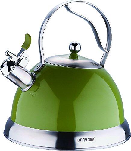Bergner Milano - Bollitori  da fornello acciaio inossidabile verde 2.6l