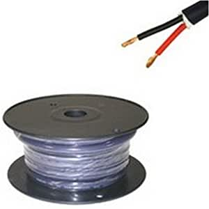 C2G / Cables To Go 29171 12 AWG Velocity Bulk Speaker Wire, Blue (25 Feet/7.62 Meters)
