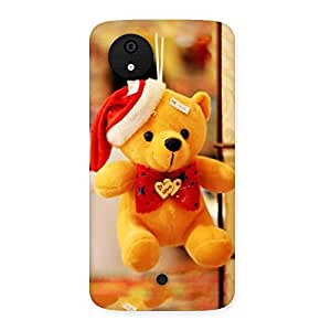AJAYENTERPRISES Teeddy Hand Bearr Back Case Cover for Micromax Canvas A1