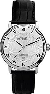 1643/08 Michel Herbelin Gents Automatic Watch in Stainless Steel case on Strap