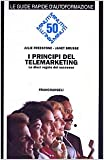img - for I principi del telemarketing. Le dieci regole del successo book / textbook / text book