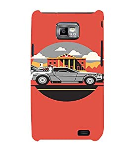 EPICCASE Wanna Ride Mobile Back Case Cover For Samsung Galaxy S2 (Designer Case)